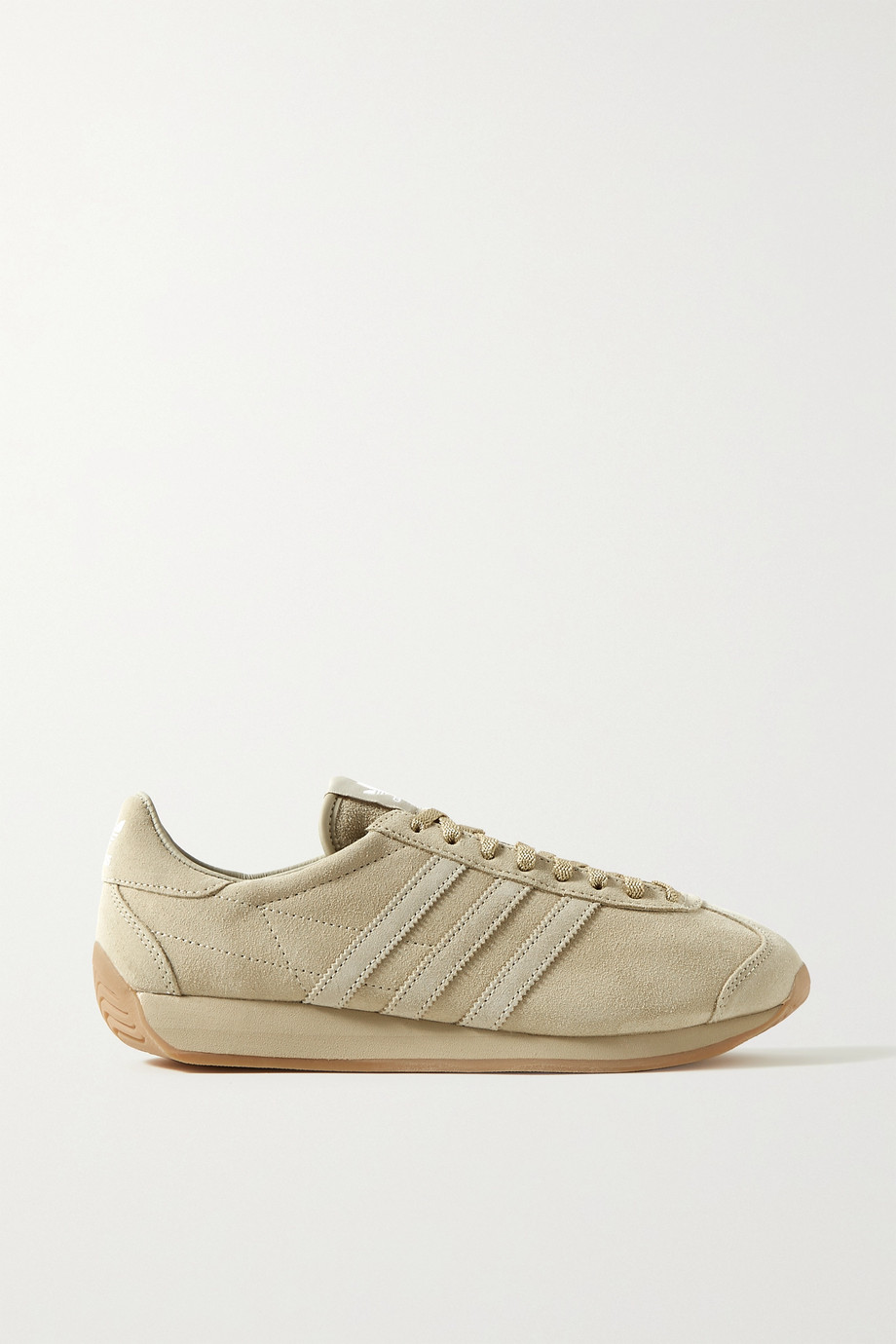 Khaite + adidas Originals suede sneakers