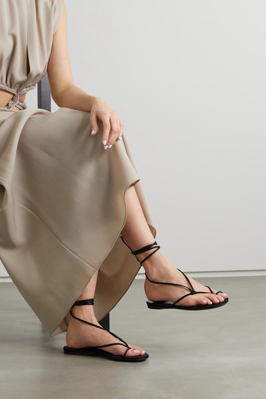 The Attico Kika satin sandals