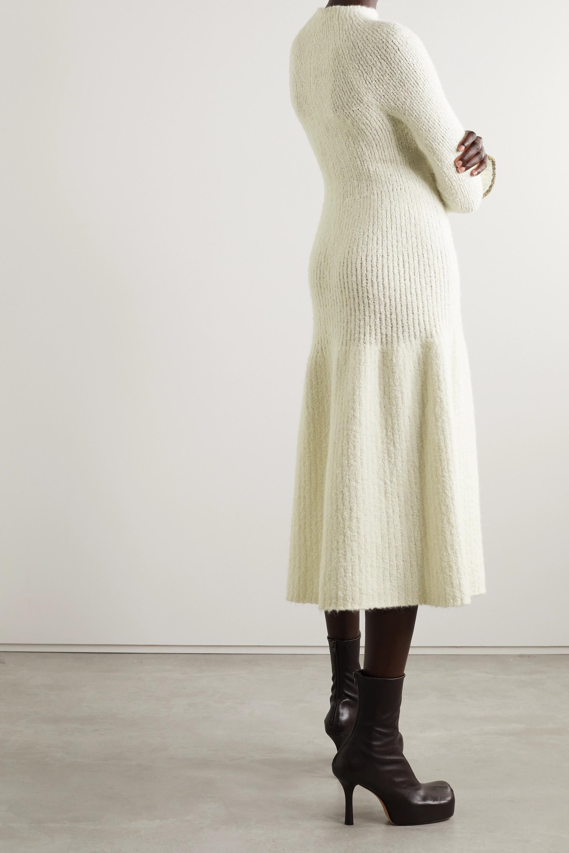 Proenza Schouler Bouclé-knit midi dress