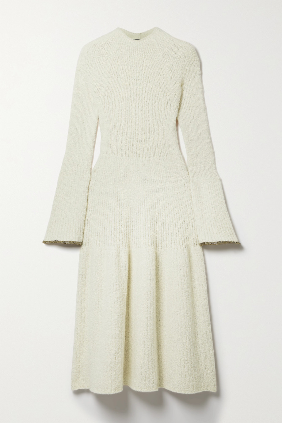 Proenza Schouler Bouclé-knit midi dress