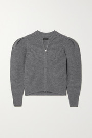 Isabel Marant Randy ribbed merino wool and cashmere-blend cardigan