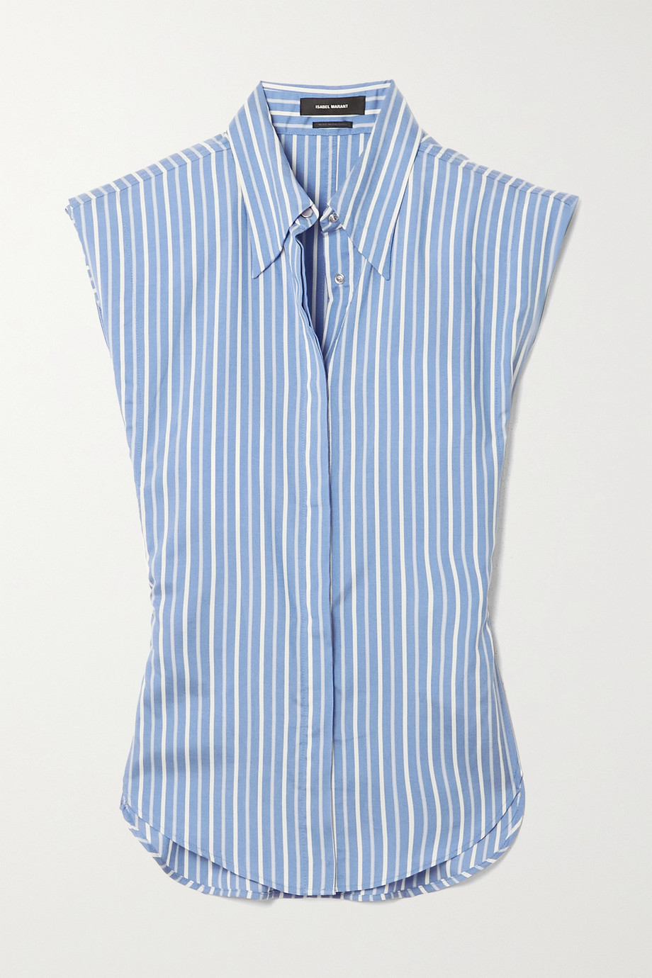 Isabel Marant Enza striped silk shirt