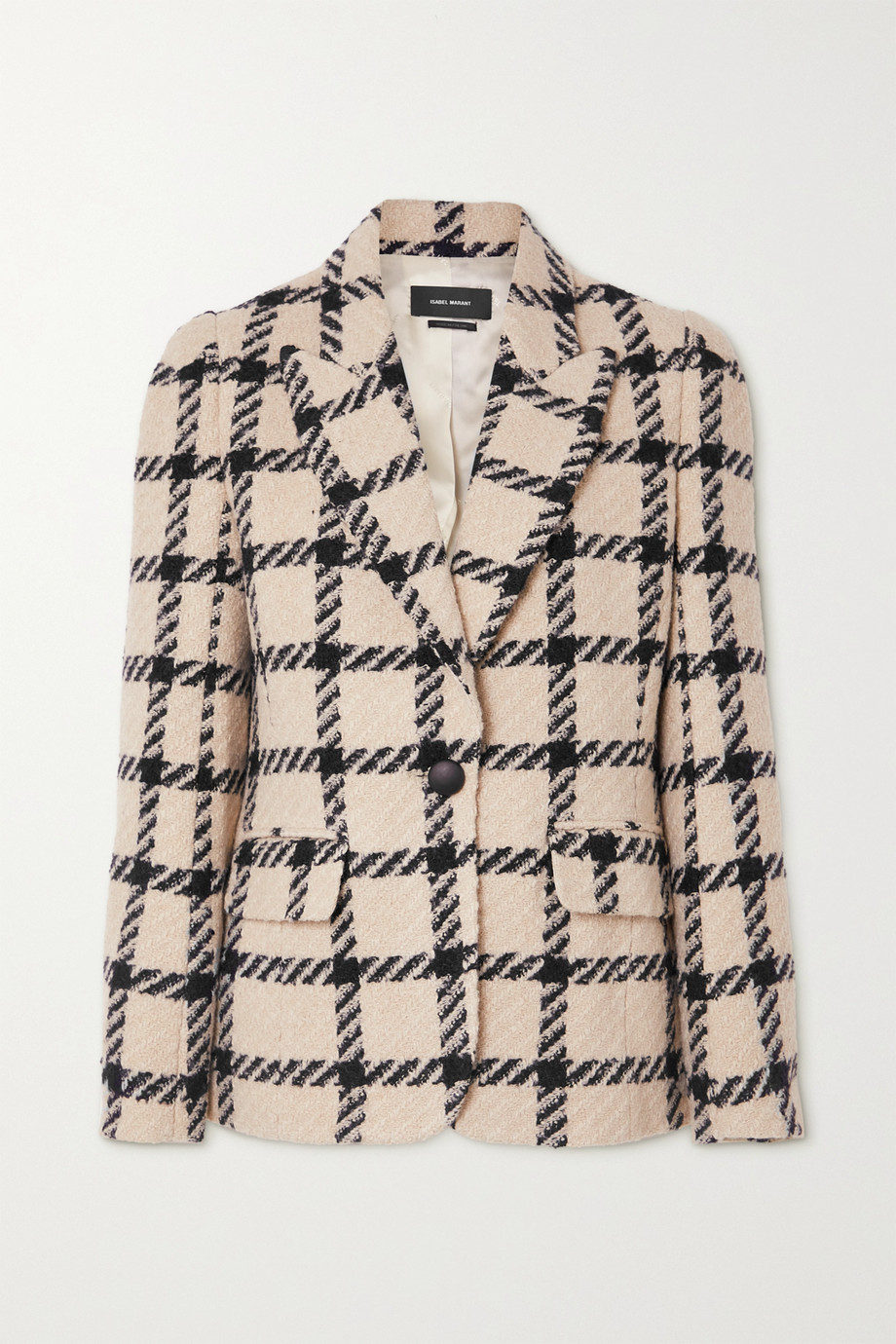 Isabel Marant Kioa checked tweed blazer