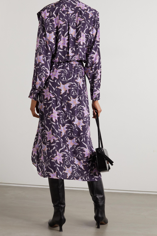 Isabel Marant Étoile Okley floral-print crepe midi dress