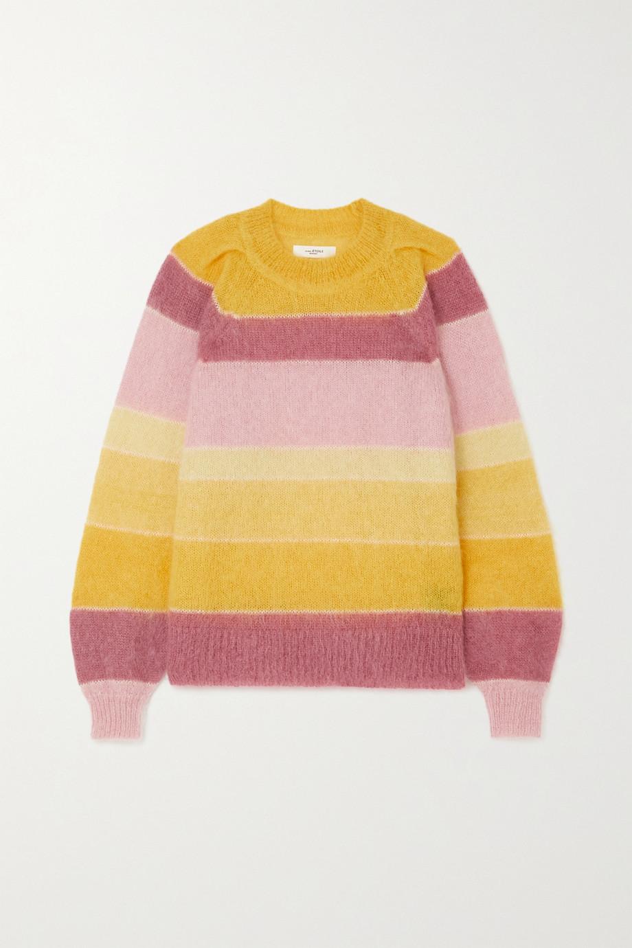 Isabel Marant Étoile Daniel striped mohair-blend sweater