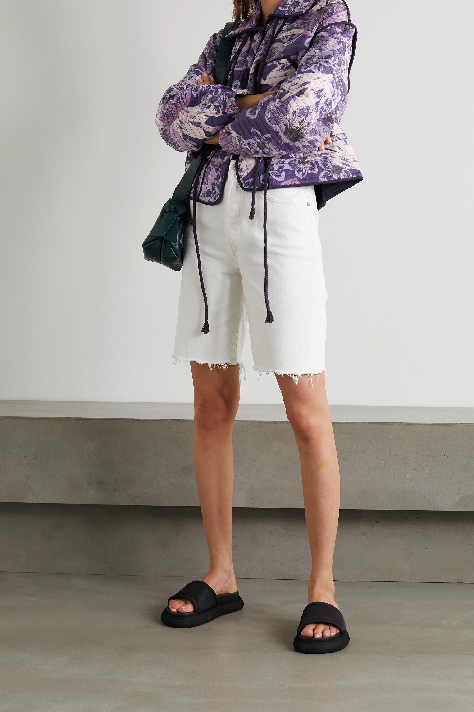 Isabel Marant Étoile Haines floral-print quilted cotton jacket