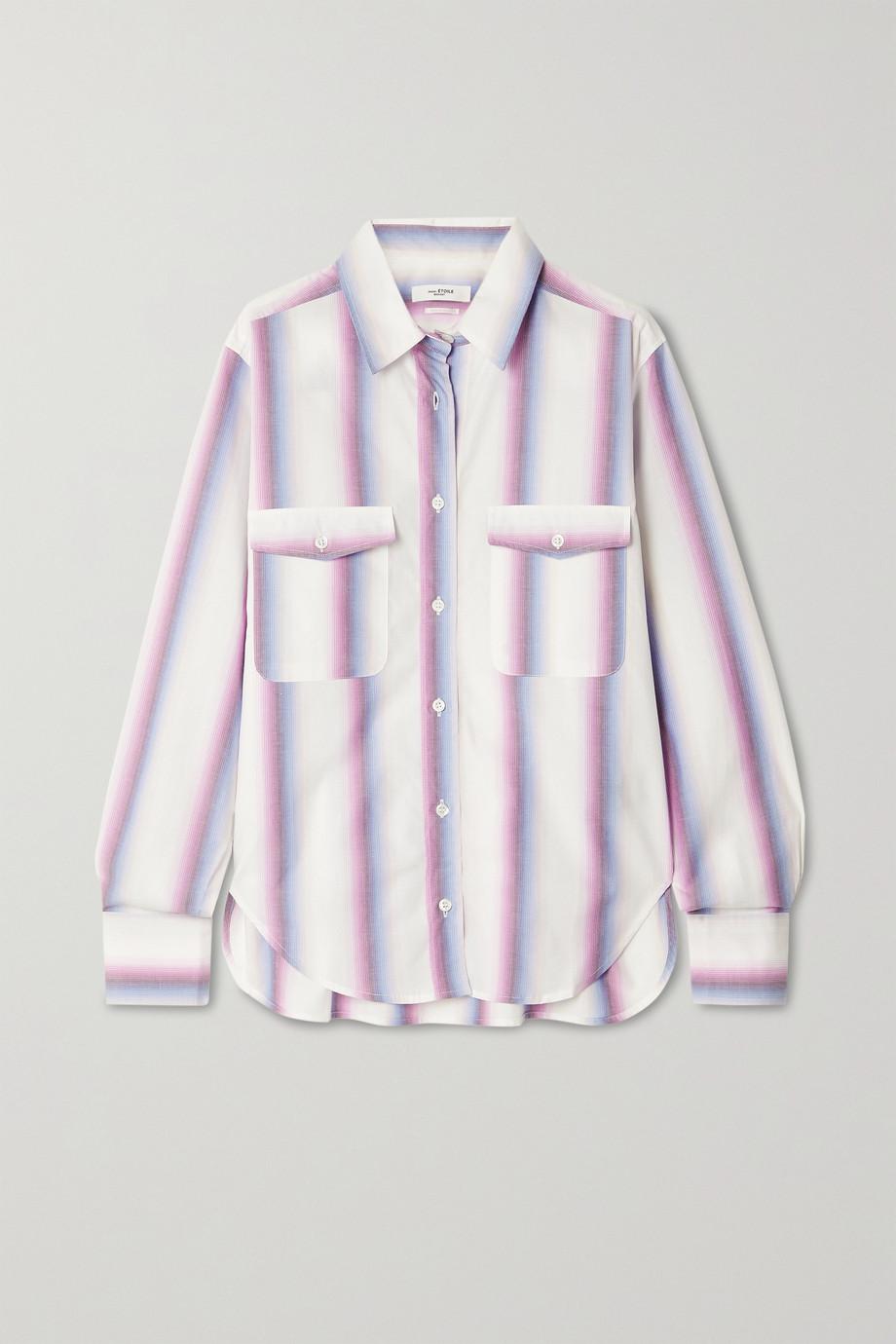 Isabel Marant Étoile Jalyne striped cotton-poplin shirt