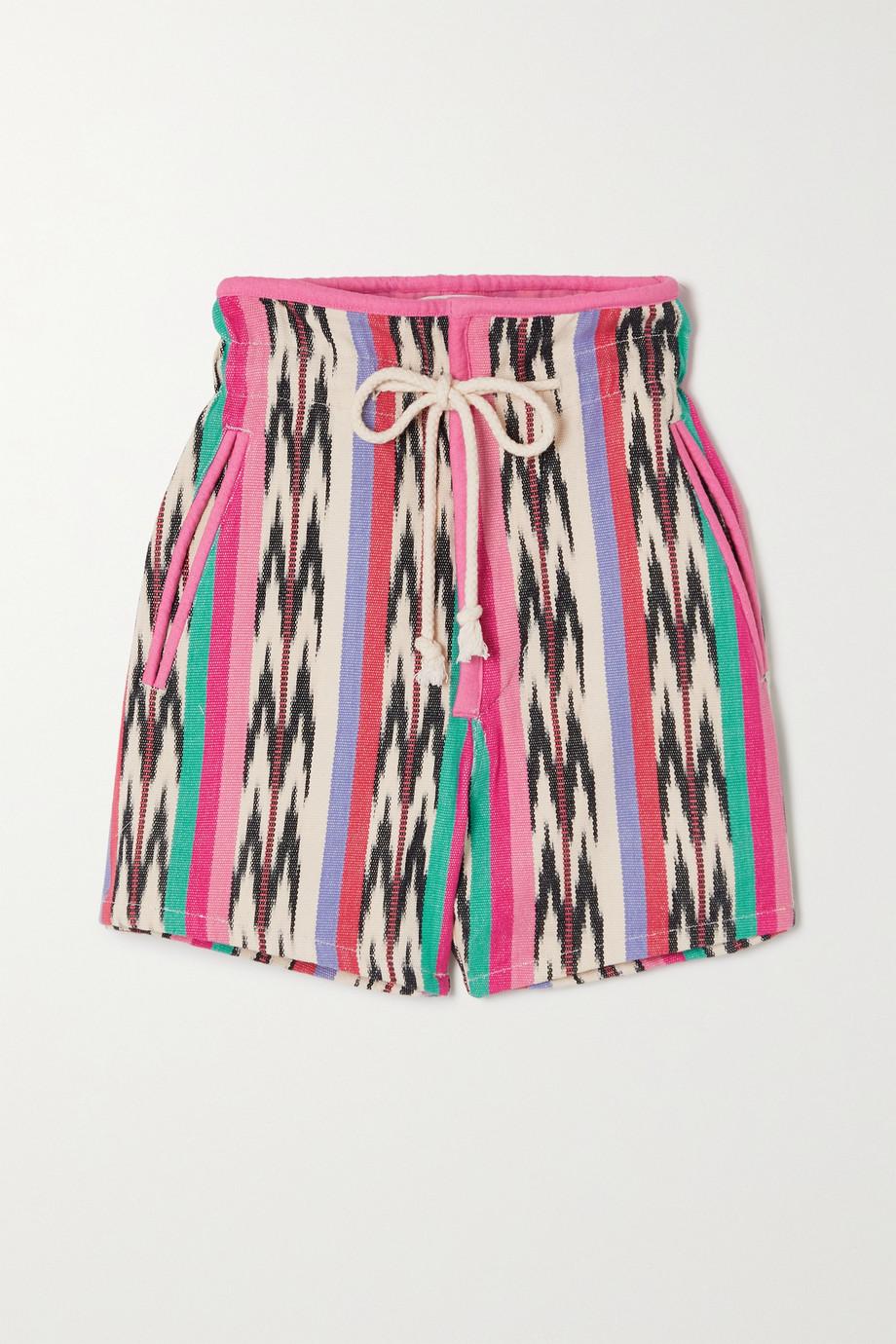 Isabel Marant Étoile Inima printed cotton-canvas shorts