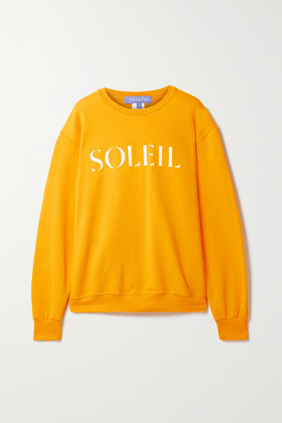 Paradised Printed cotton-blend jersey sweatshirt