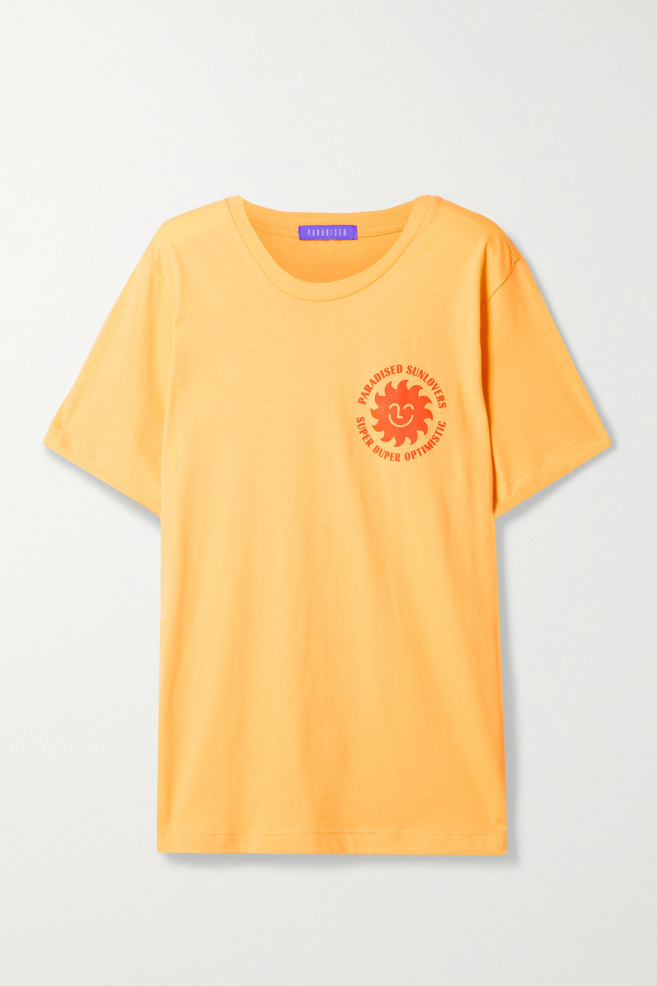 Paradised + NET SUSTAIN printed cotton-jersey T-shirt