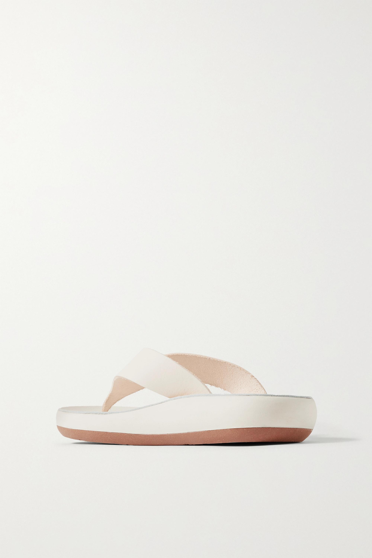 Ancient Greek Sandals Charys Zehensandalen aus Leder