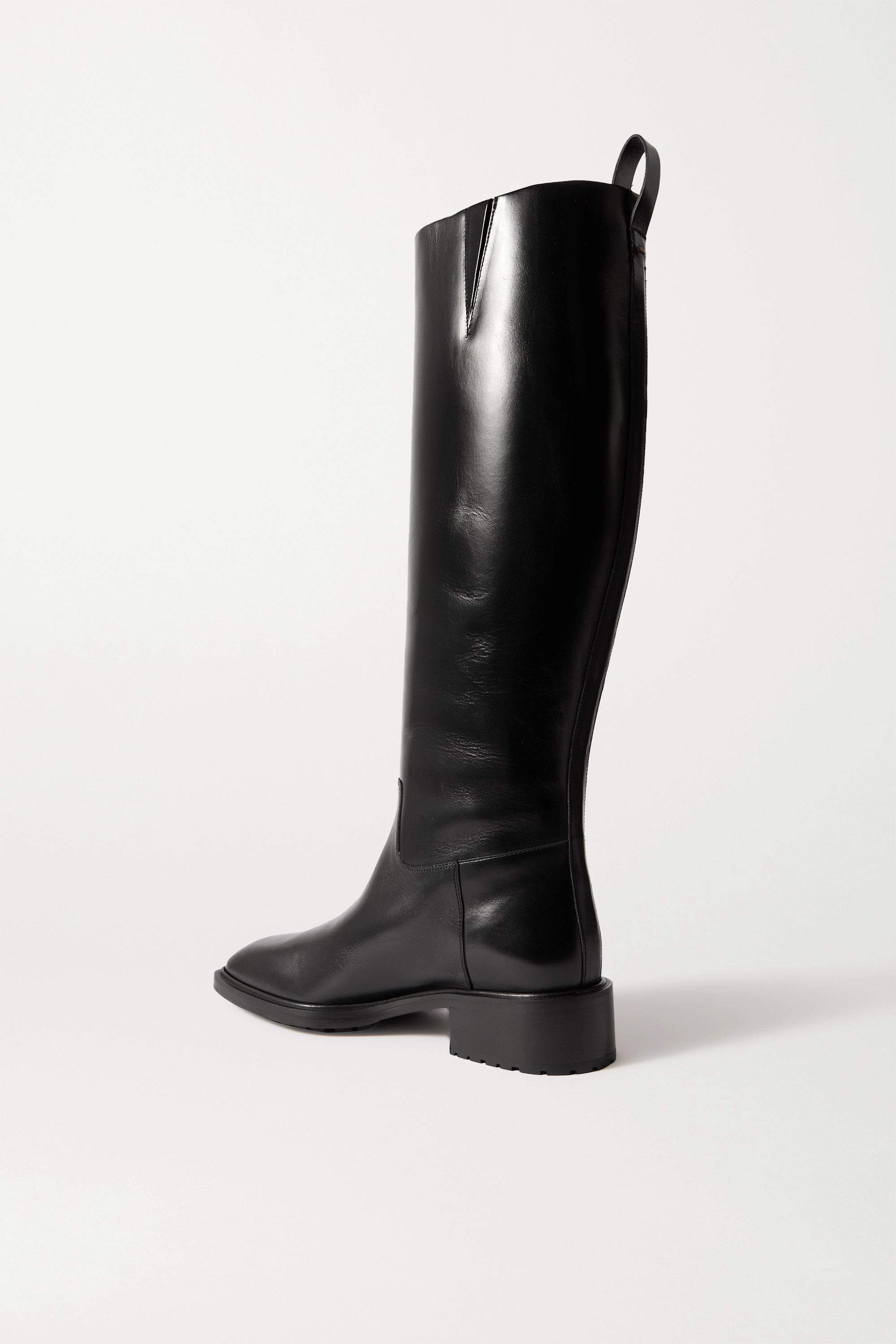 aeyde Tammy leather knee boots