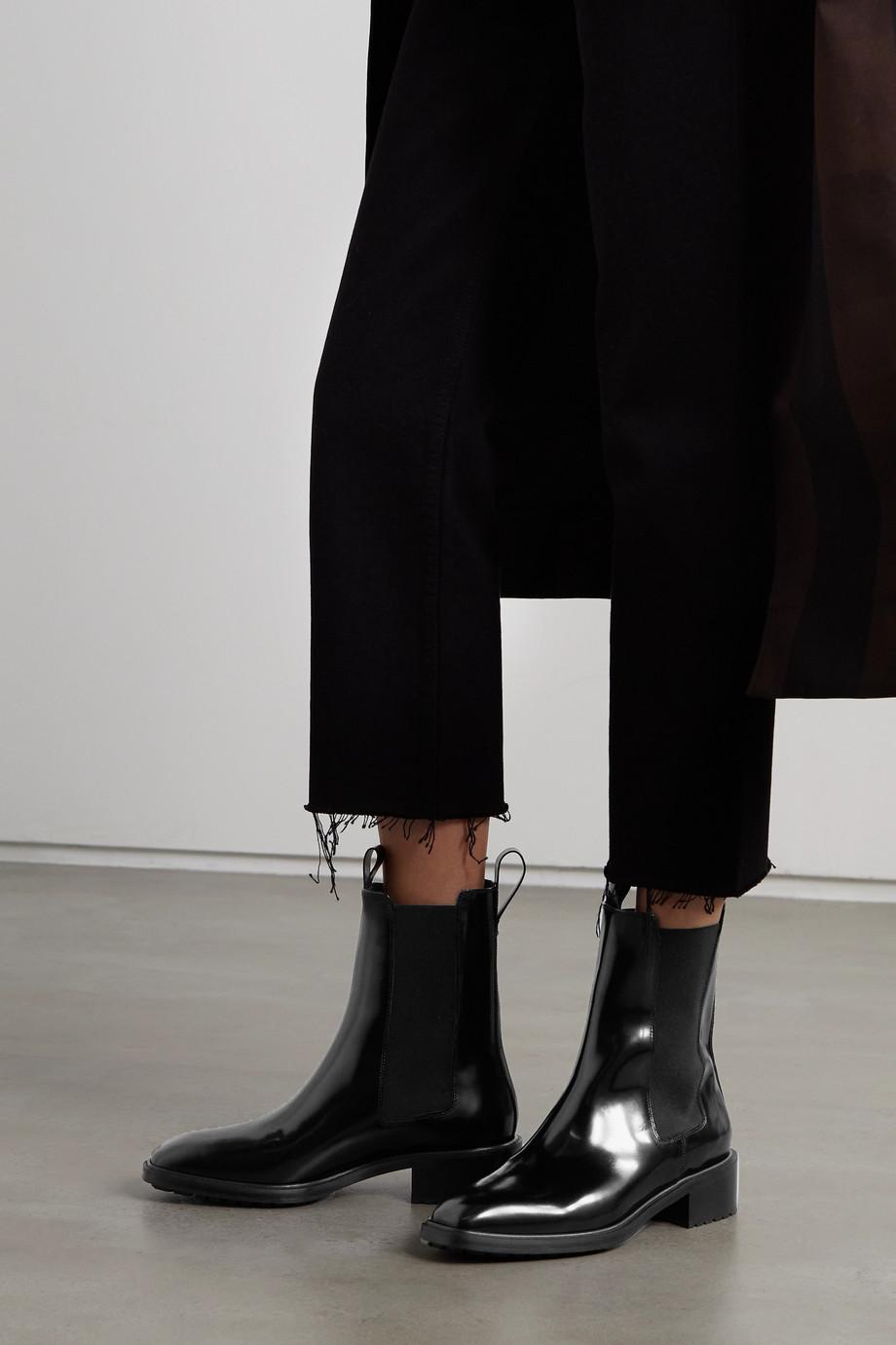 aeyde Simone Chelsea Boots aus Leder