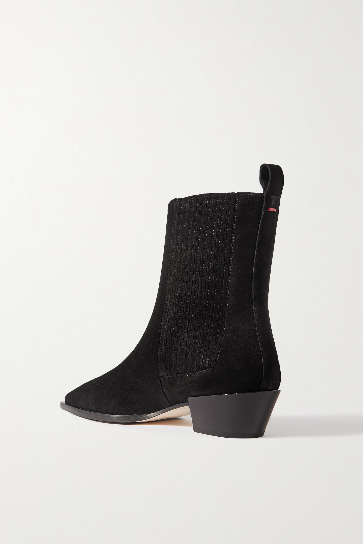aeyde Belinda suede ankle boots