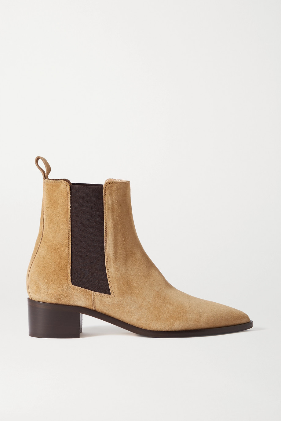 aeyde Lou suede Chelsea boots