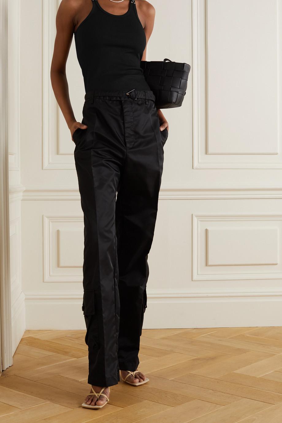 Dion Lee Débardeur en jersey de coton côtelé à ornements