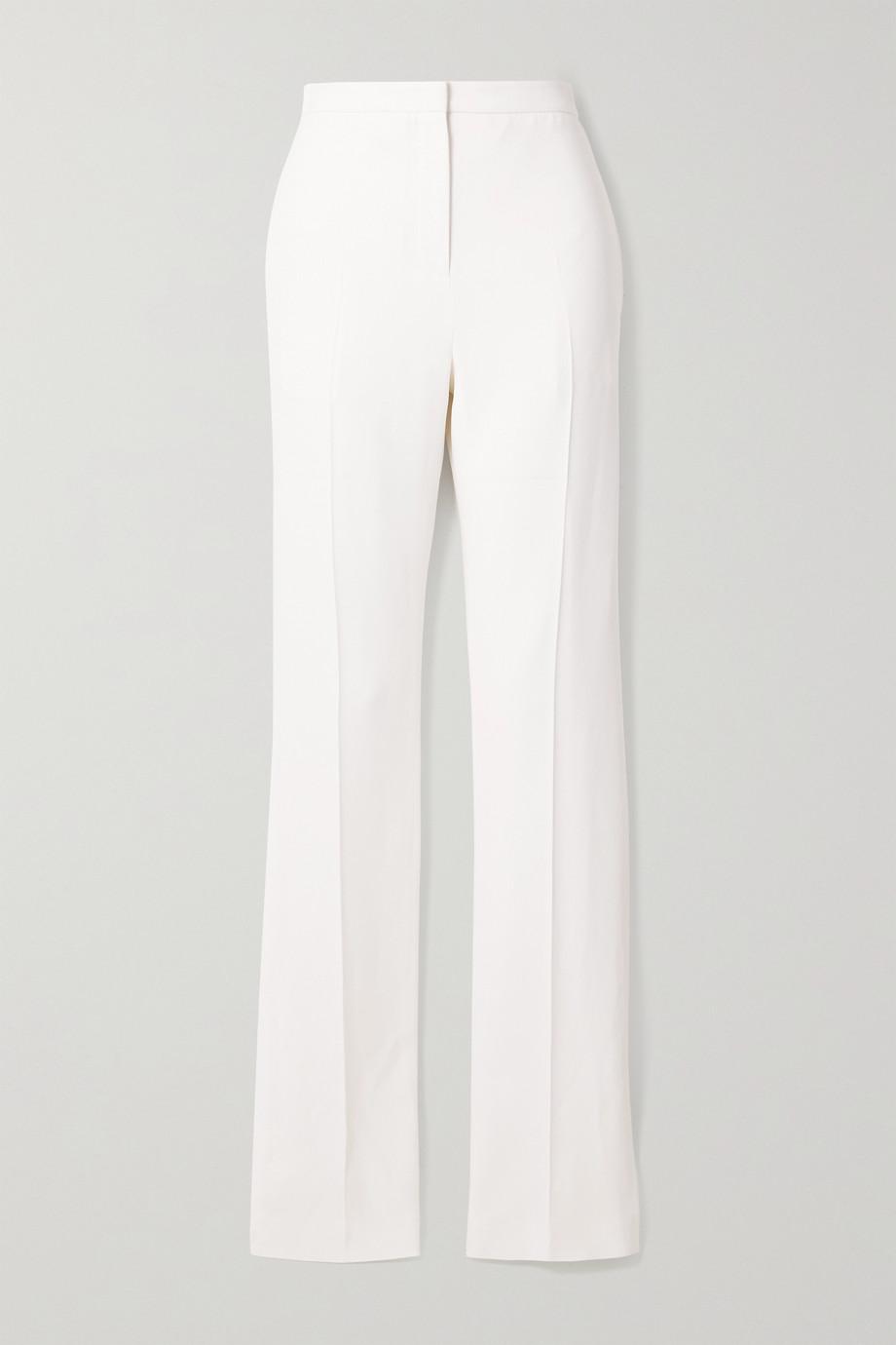 Alexander McQueen Crepe slim-leg pants
