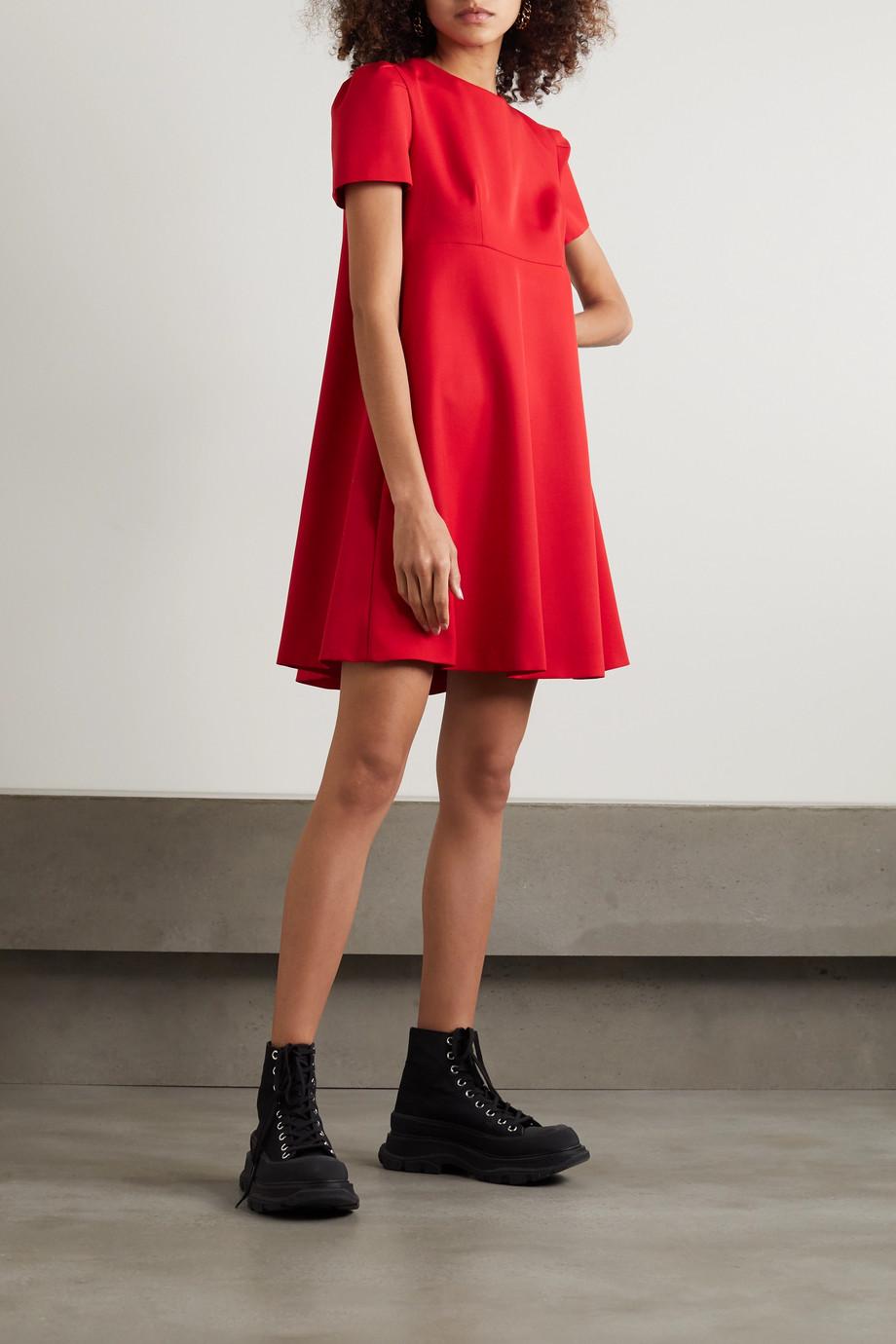 Alexander McQueen Mini-robe en laine