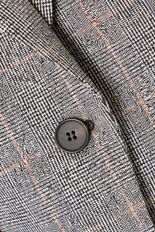 Alexander McQueen Blazer aus einer Wollmischung mit Glencheck-Muster