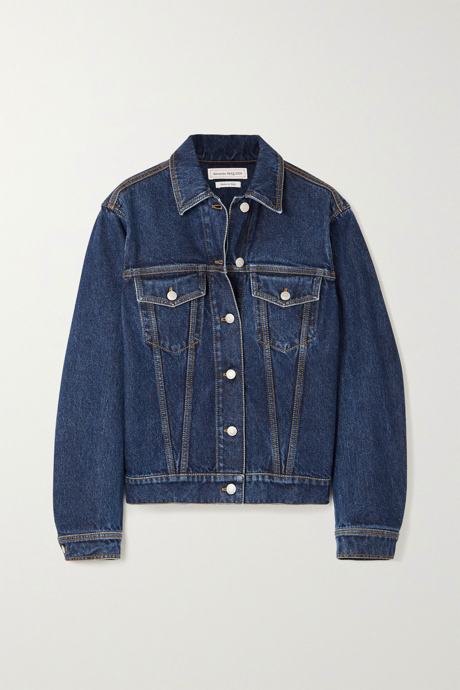 Alexander McQueen Oversized denim jacket