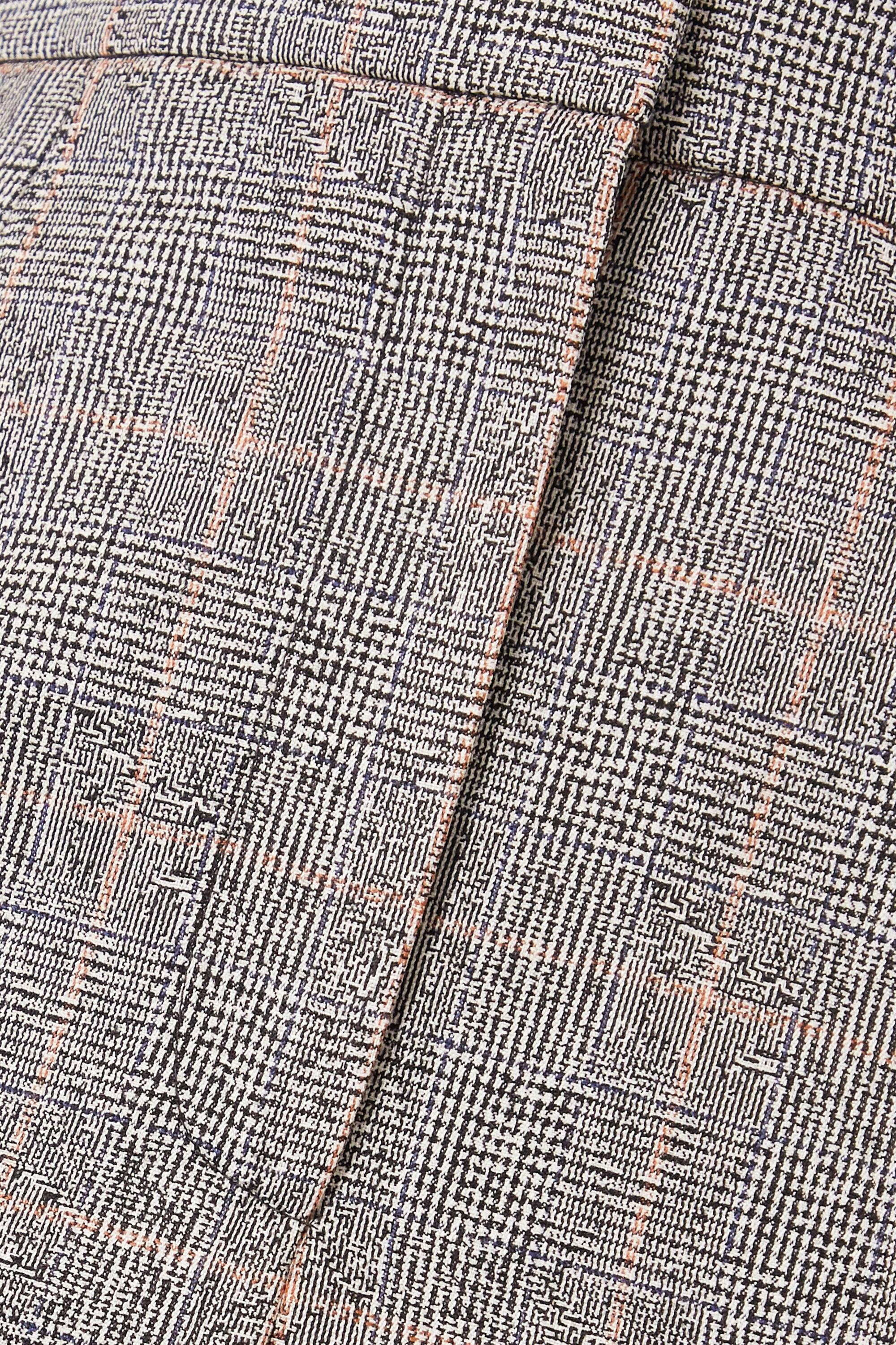 Alexander McQueen Hose aus einer Wollmischung mit Glencheck-Muster