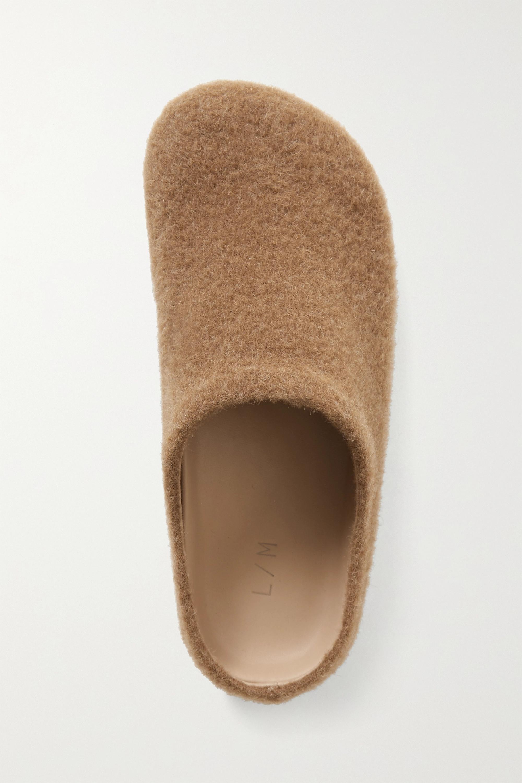 Lauren Manoogian Mono Slippers aus einer Alpakawoll-Wollmischung