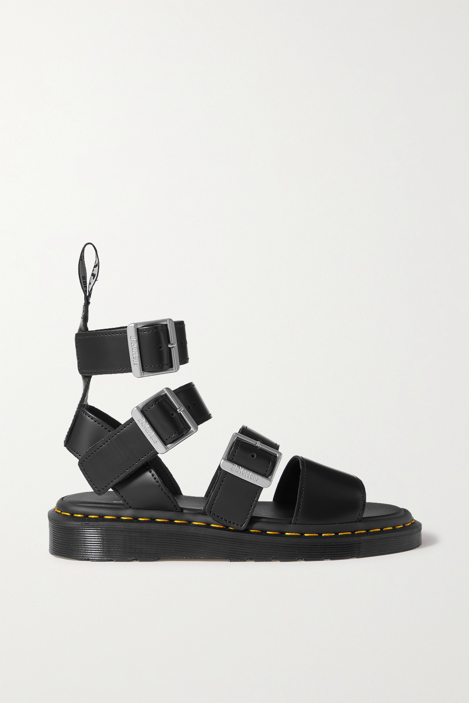 Rick Owens + Dr. Martens Gryphon leather sandals