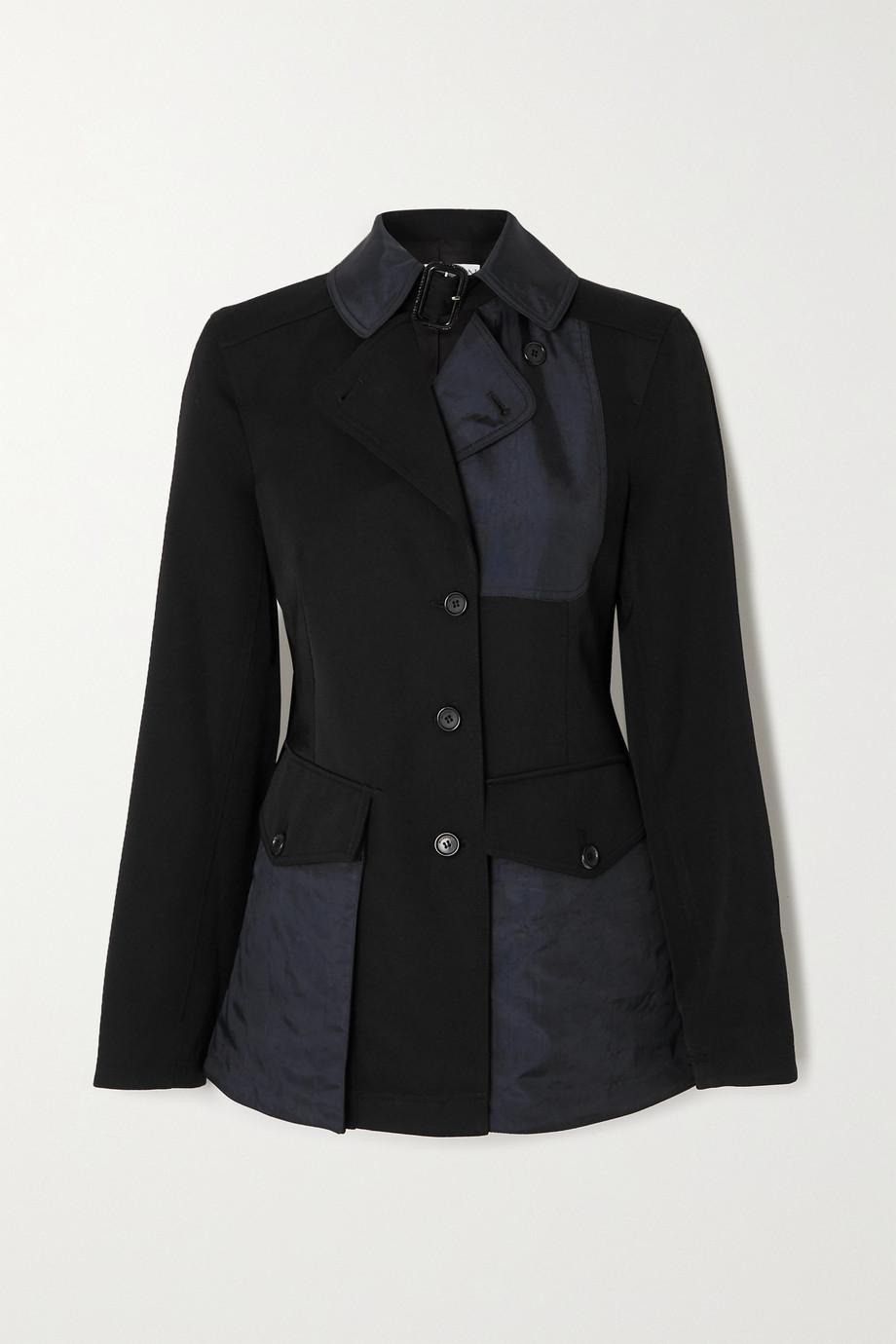 JW Anderson Shell-paneled wool jacket