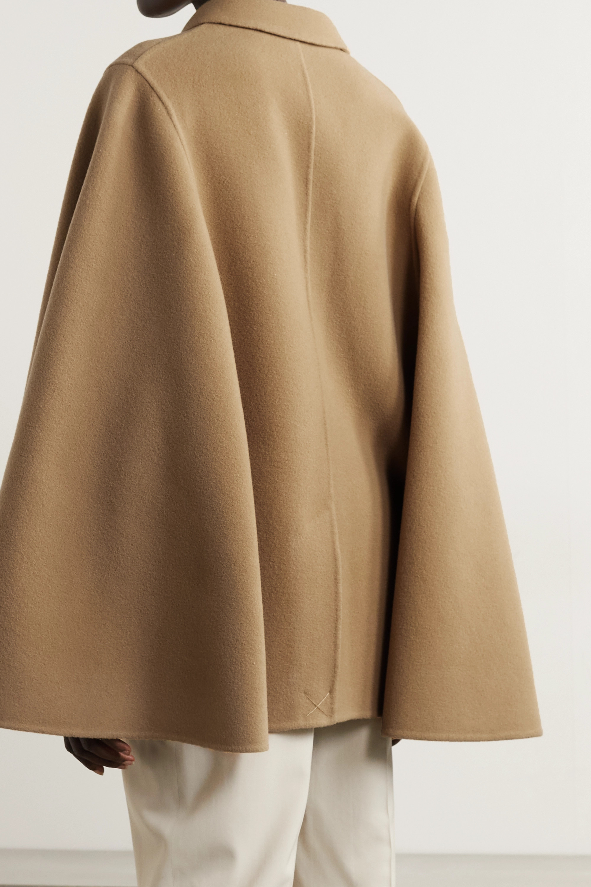 JW Anderson Double-breasted wool cape