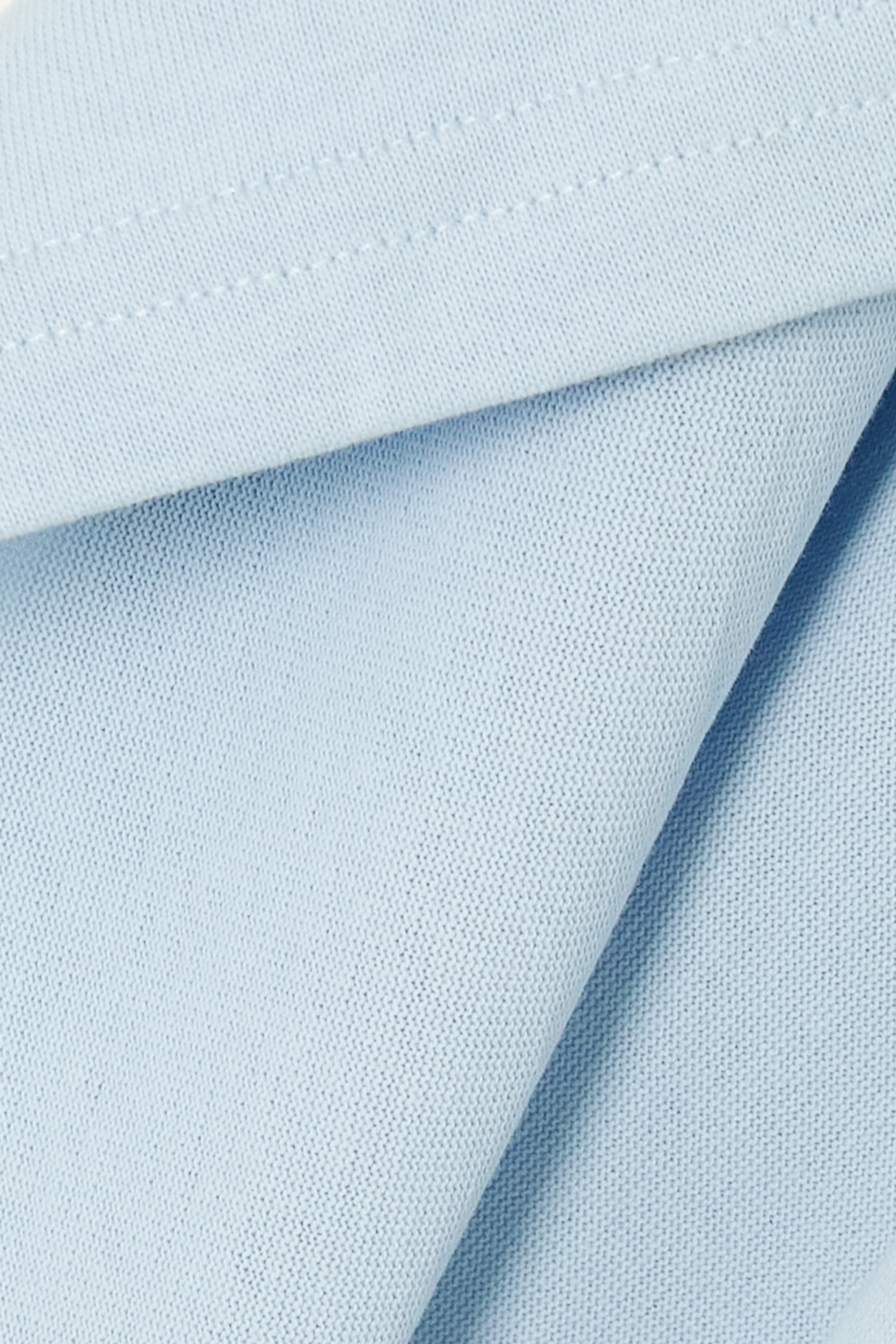 JW Anderson Asymmetric cape-effect cotton-jersey top