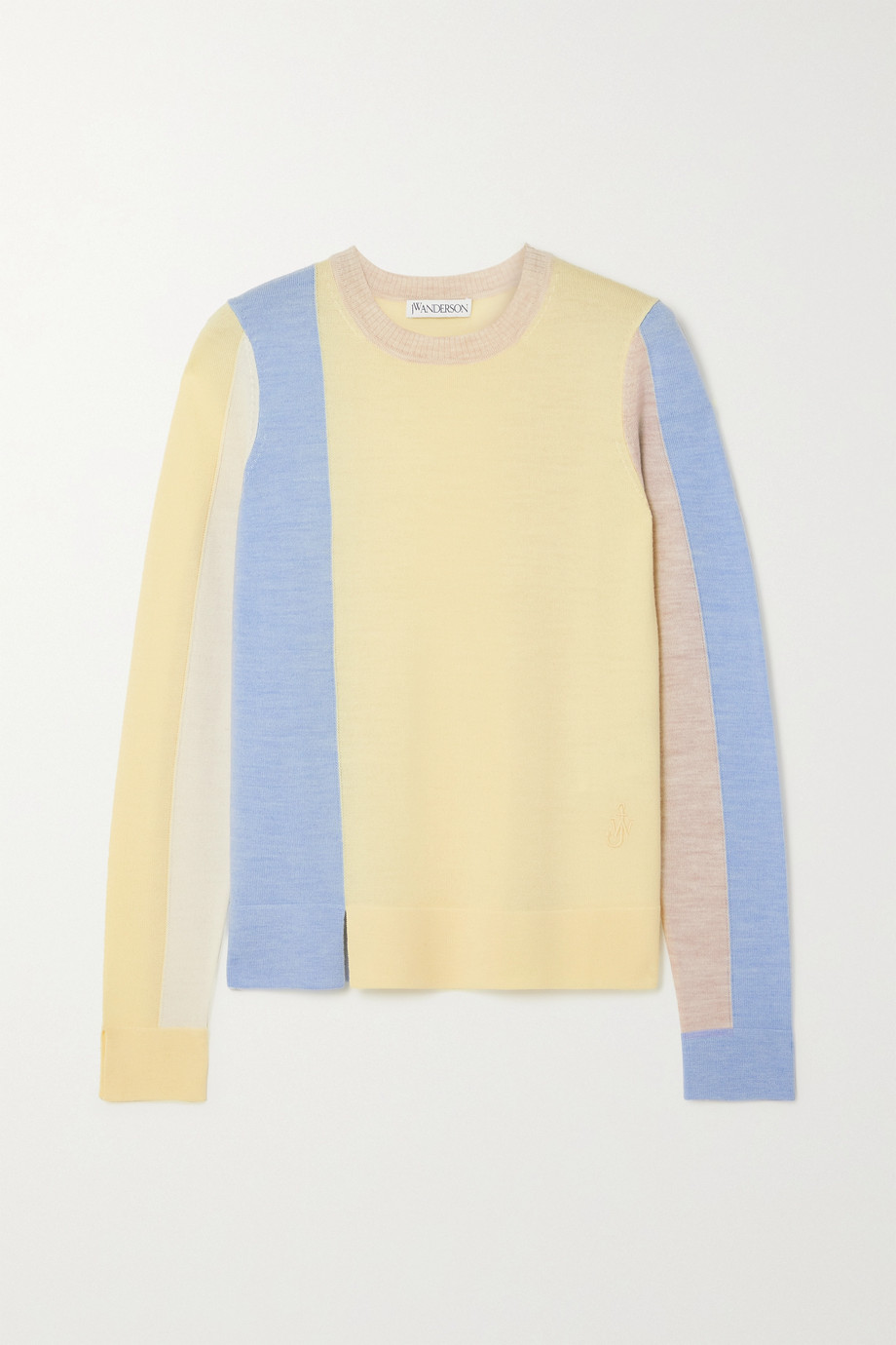 JW Anderson Color-block wool sweater