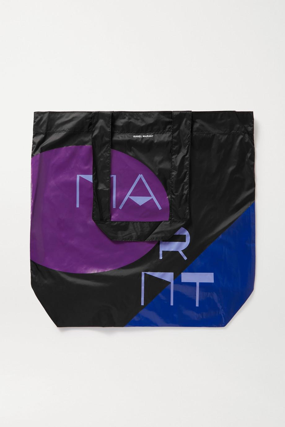 Isabel Marant Woom printed nylon tote