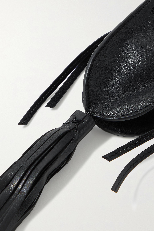 Isabel Marant Radjimi mini tasseled leather bucket bag