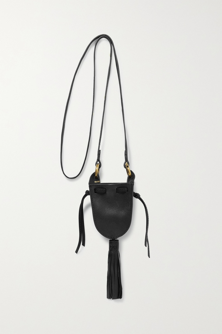 Isabel Marant Radjimi mini tasseled leather bucket bag