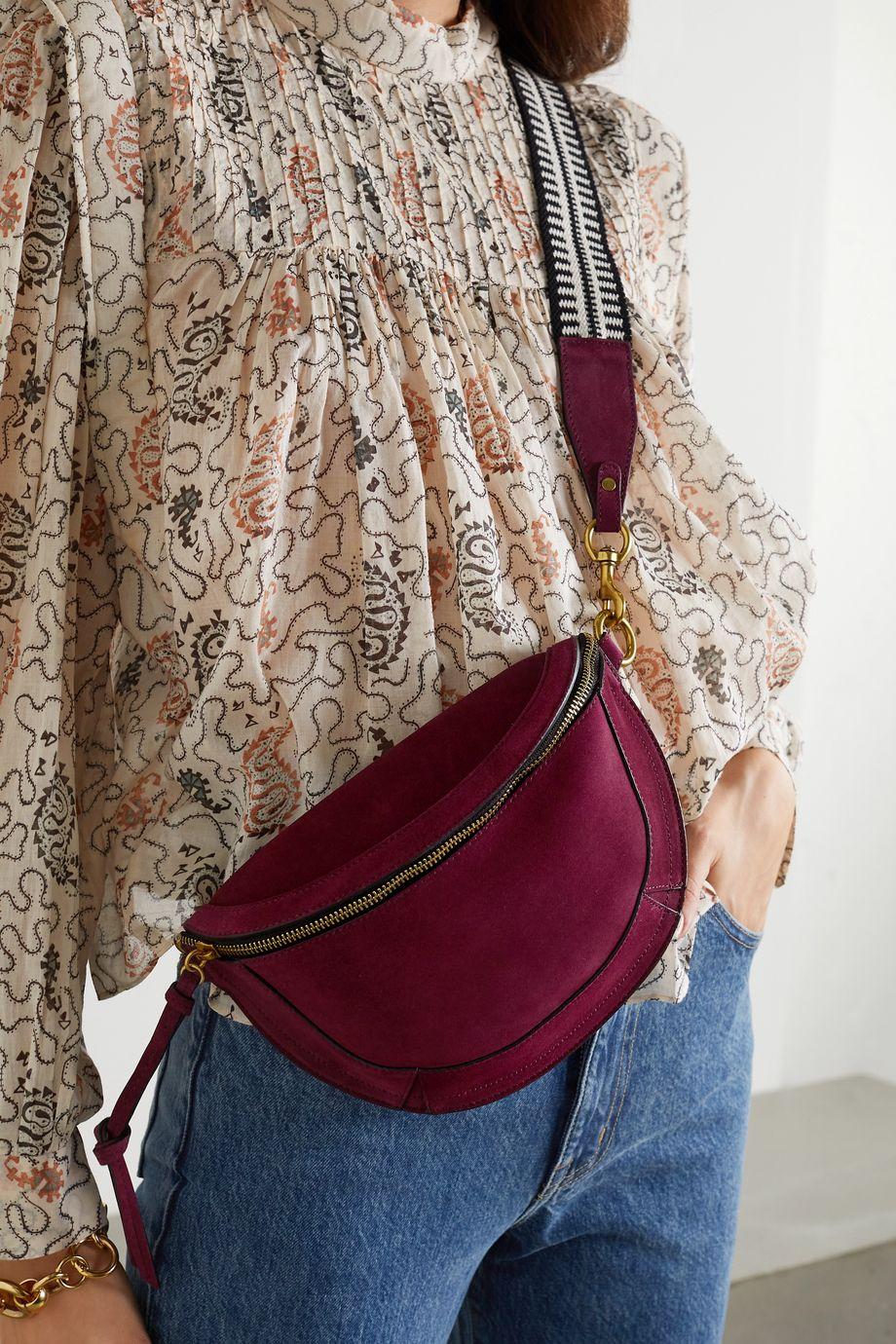 Isabel Marant Skano suede shoulder bag