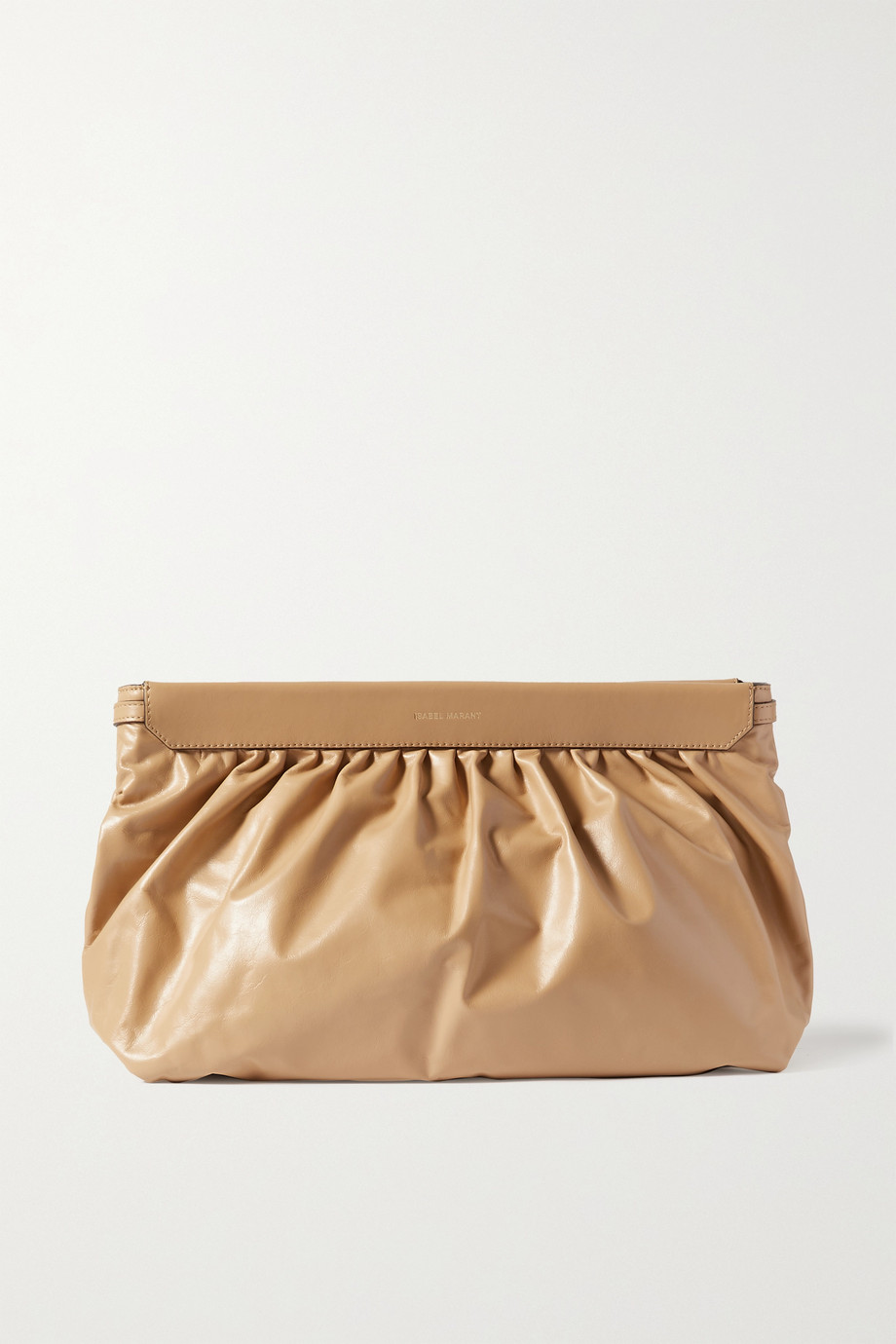 Isabel Marant Luz leather clutch