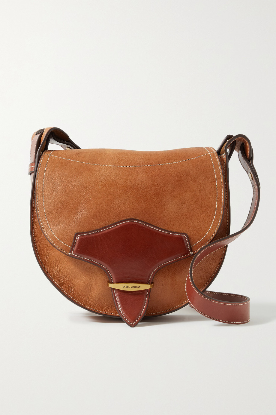 Isabel Marant Botsy two-tone leather shoulder bag