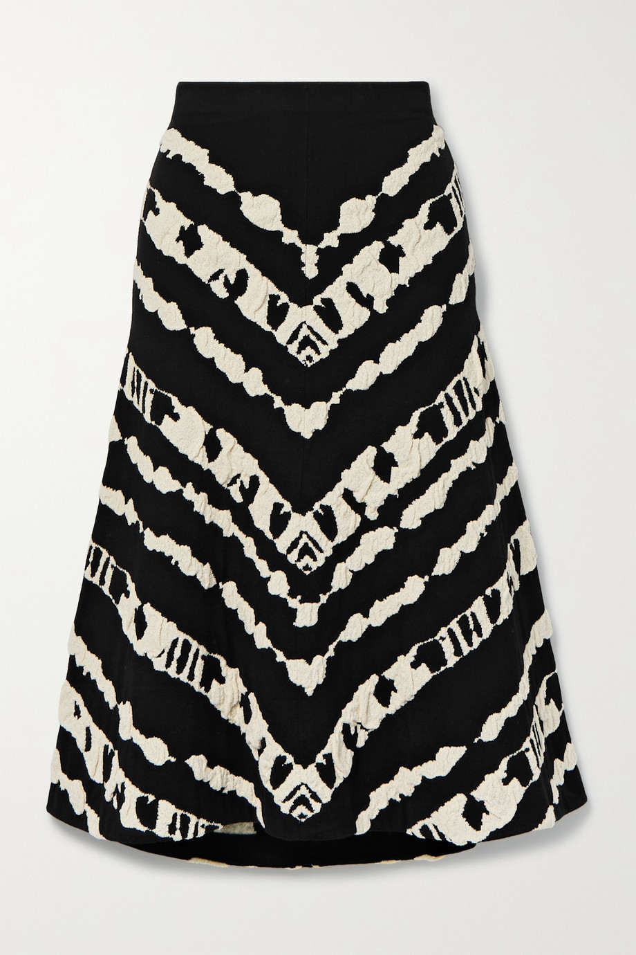 Proenza Schouler White Label Jacquard-knit midi skirt
