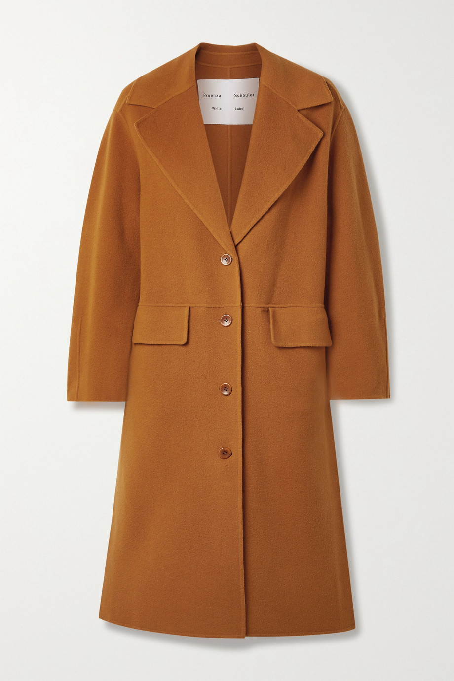 Proenza Schouler White Label Wool-blend felt coat