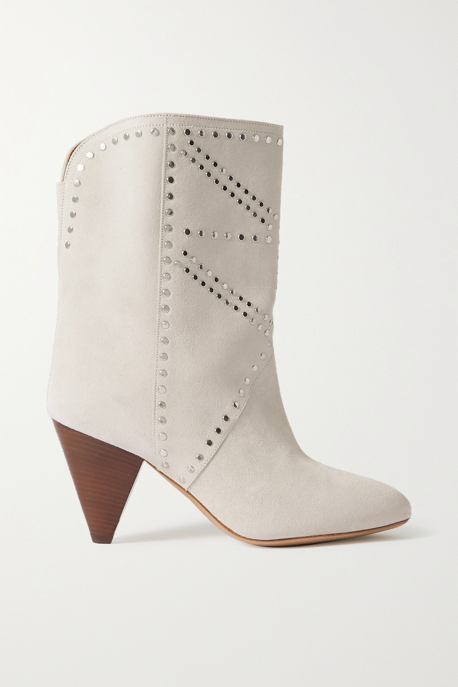 Isabel Marant Bottines en daim à clous Deezia