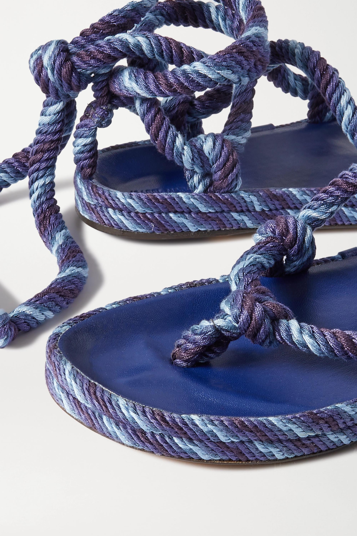 Isabel Marant Erol knotted cotton sandals