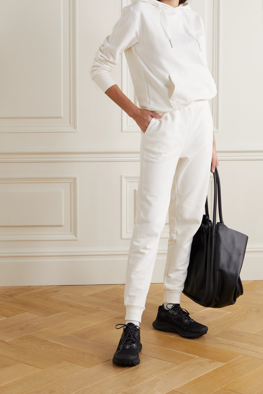 Ernest Leoty Anouk cotton-jersey track pants