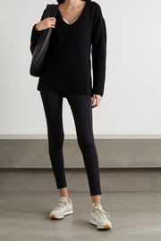 Ernest Leoty Eloise ribbed merino wool and cashmere-blend sweater