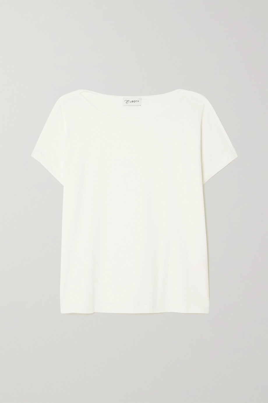 Ernest Leoty Ludvine stretch TENCEL and cotton-blend jersey T-shirt