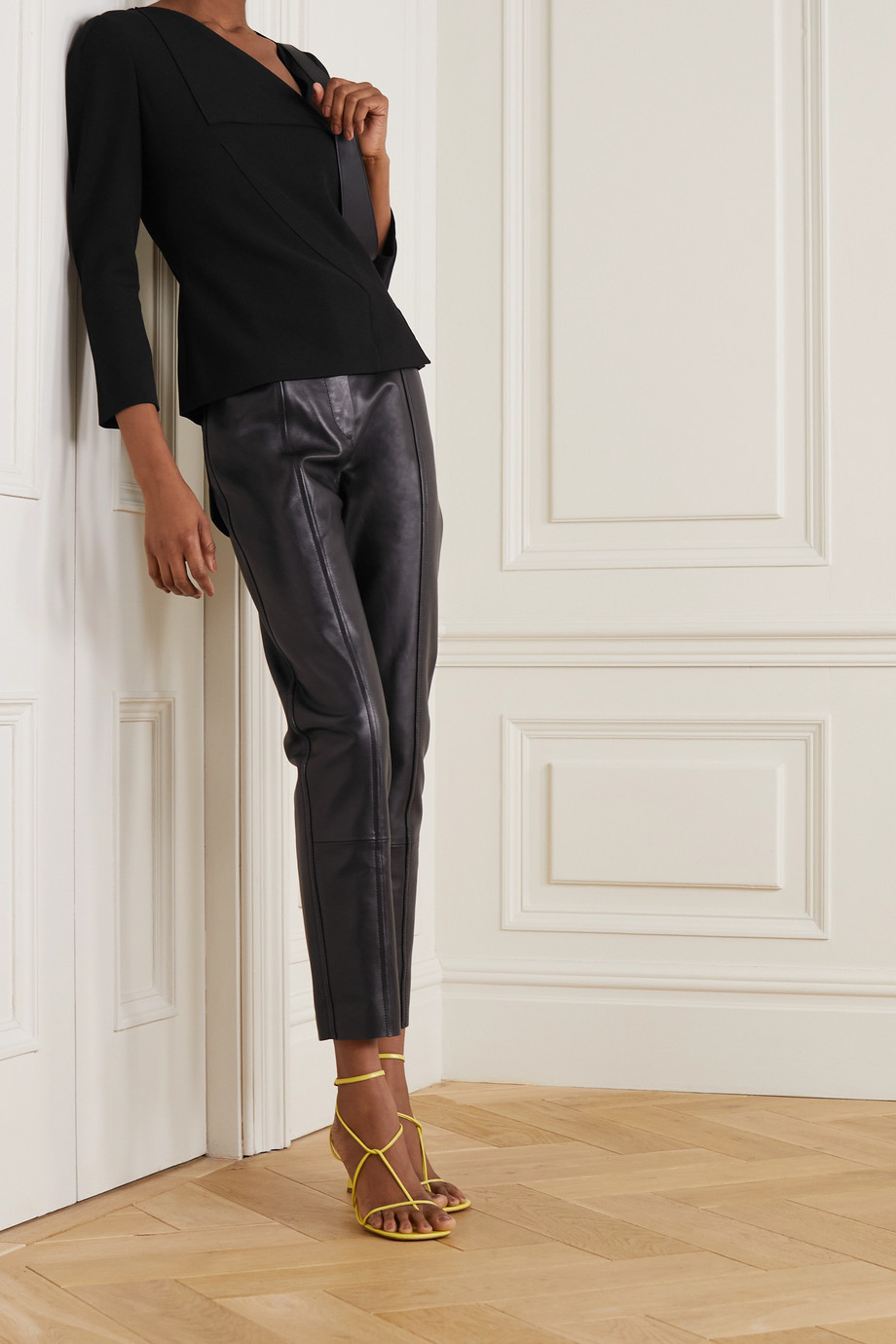 Roland Mouret Mayfly crepe top