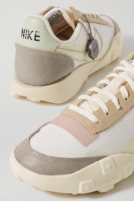 Nike Waffle Racer NRG Sneakers aus Ripstop und Veloursleder mit Lederbesätzen