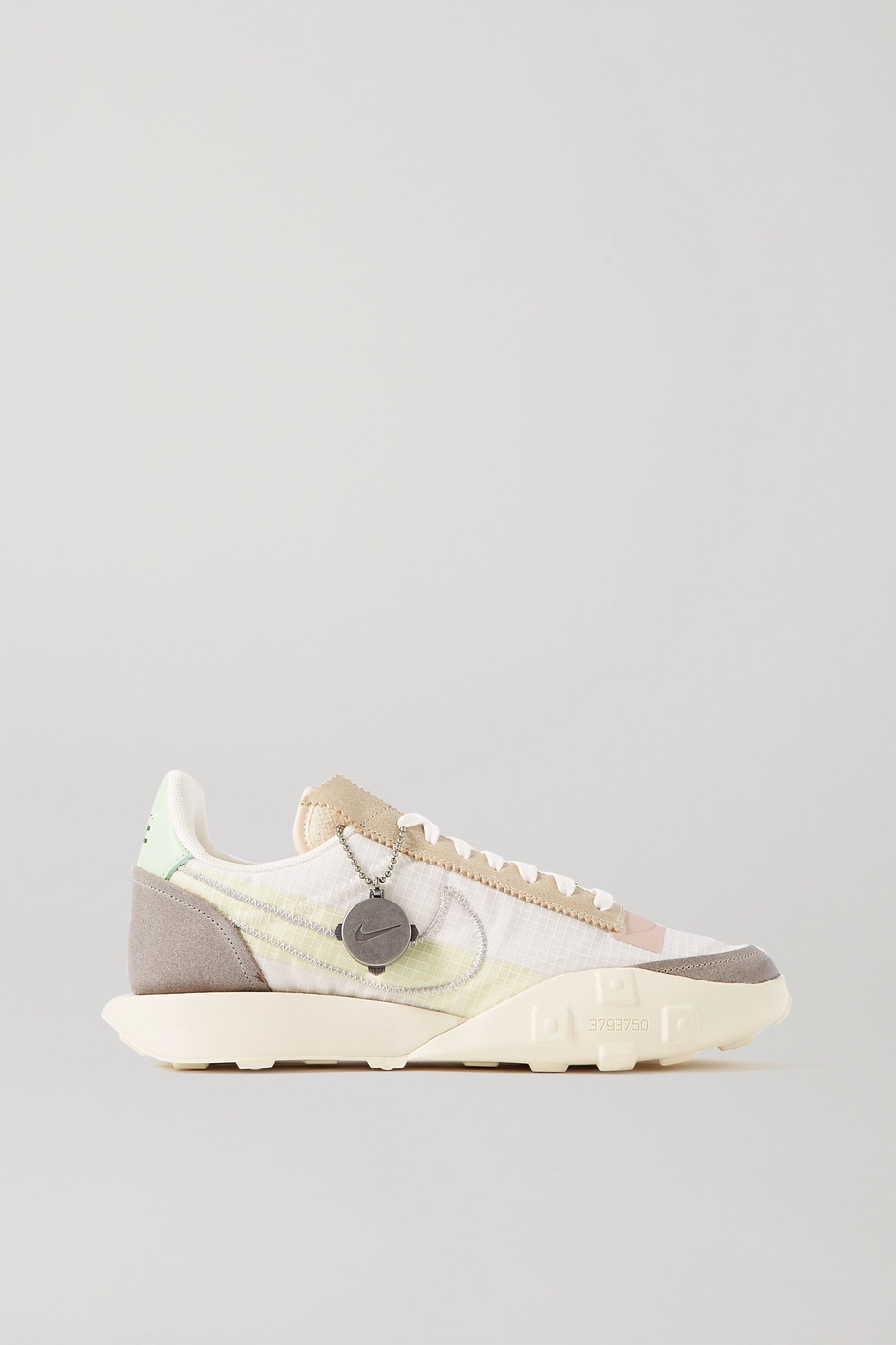 Nike Waffle Racer NRG leather-trimmed ripstop and suede sneakers
