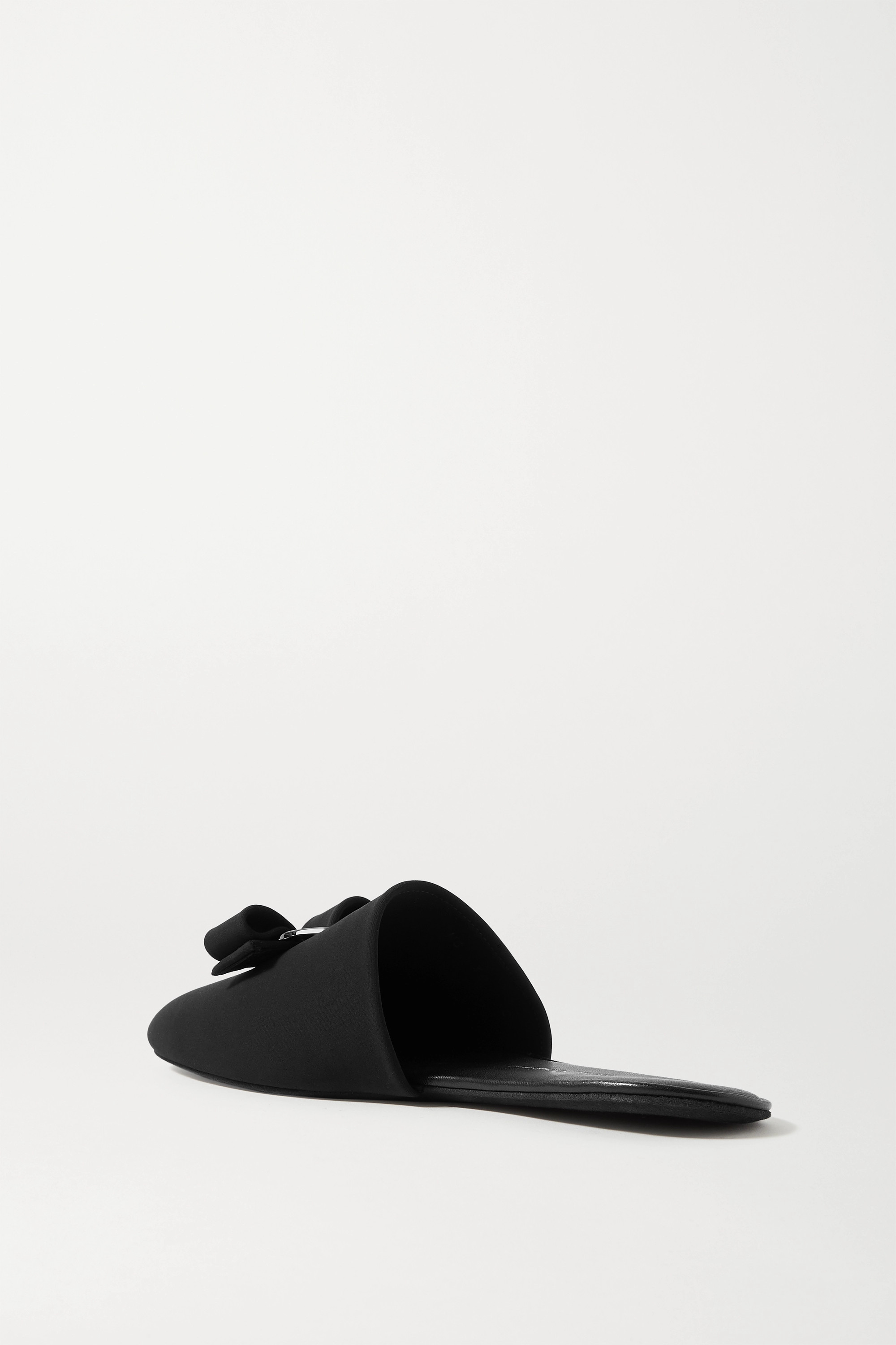 Salvatore Ferragamo Vern Dream bow-embellished cady slippers