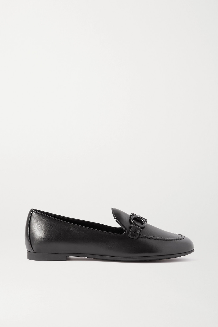 Salvatore Ferragamo Embellished leather loafers