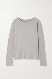 Baserange + NET SUSTAIN ribbed organic cotton sweater